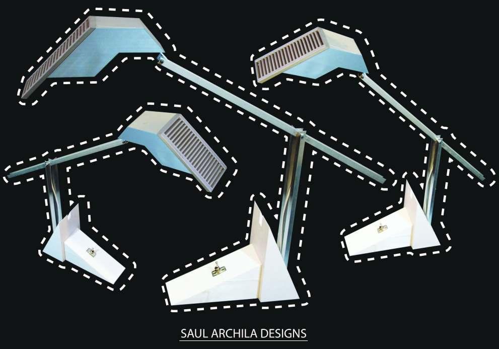 3D Designed & Printed Lamp