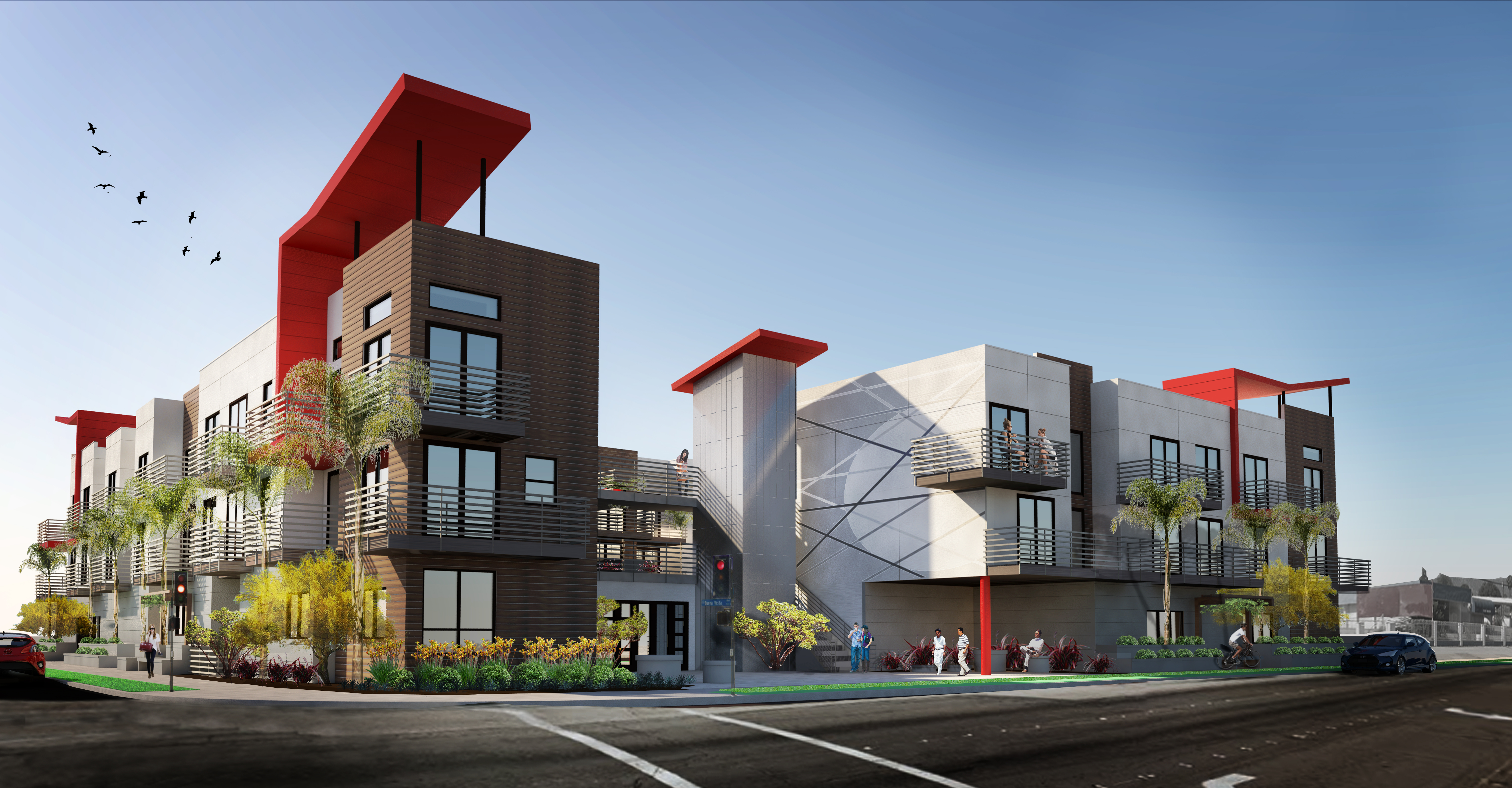 pomona apartments architectural renderings
